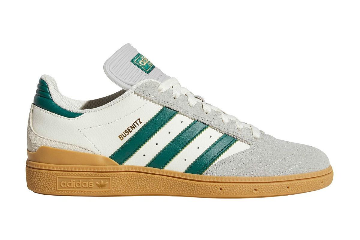 adidas Busenitz Grey/ Green