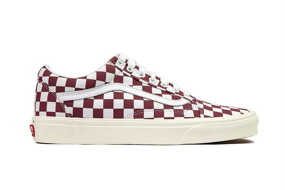 vans old skool checkerboard/port royale