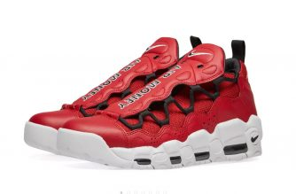 nike air more money gym red