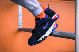 Nike Air Force Max Charles Barkley Black
